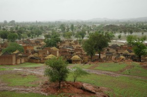 Le village de Sika au Burkina © Guillaume de La Hougue