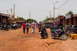 Ouagadougou - Une rue ©FDLH