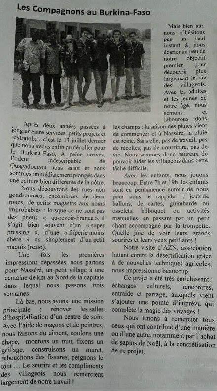 Article des Parvis ©FDLH
